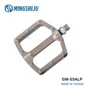 《MINGSHIJU》名師車 GM-03ALP 自行車 專業踏板(鈦色)