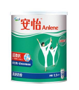 安怡 超微鈣高鈣奶粉(1.5kg/罐)