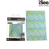《iSee》iSee 萬用雙面雙效擦拭布(15x10cm)(IS-MC1510)(海邊)