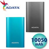 《威剛 ADATA》A10050QC 10050mAh 行動電源 QC3.0 快充 Type-C 2.5A輸出(鈦灰)