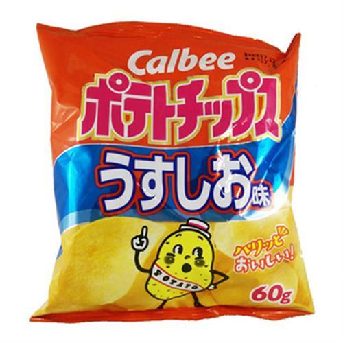 日本加樂比鹽味薯片(60g)