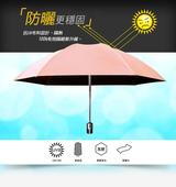 《揪揪購》反向自動伸縮晴雨傘(四色可選)亮粉紅 $339
