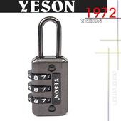《YESON》YESON - 旅用三碼鑰匙鎖 MG-2508(MG-2508)