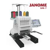 《日本車樂美JANOME》職業用刺繡機MB-7(MB-7)