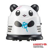 《LIBERTY利百代》棒棒糖熊貓-迷你桌上型吸塵器(送GP3號電池2入)(無)