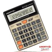 《LIBERTY利百代》效率高手-大型語音計算機-黑(贈GP4號電池2入)(黑)