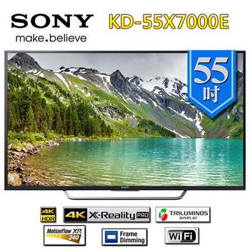 SONY 新力 KD-55X7000E 55吋 4K 液晶電視 公司貨《贈基本桌裝》(KD-55X7000E)