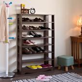 《伊里斯》伊里斯加藤開放式七層鞋櫃(七層鞋櫃)