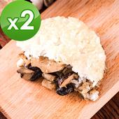 《樂活e棧》素沙茶鮮菇 米漢堡-素食可食(6顆/包,共2包)