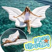 水上充氣浮床 浮板 游泳圈 造型泳圈 水上玩具 漂流游泳圈 環保PVC 天使之翼