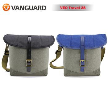 《VANGUARD 精嘉》VANGUARD 精嘉 唯影者旅行 28 VEO Travel 28 微單眼側背包(公司貨)(藍)