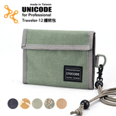 《UNICODE》Traveler-12 護照包(數位沙漠)