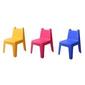《RT》彩漾四腳椅-顏色隨機出貨(長44cm*寬40cm*高57.5cm(1入))
