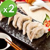 《樂活e棧》全麥水餃-素食可食(15粒/包,共2包)