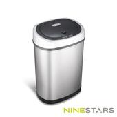 《NINESTARS》感應式掀蓋垃圾桶DZT-42-9