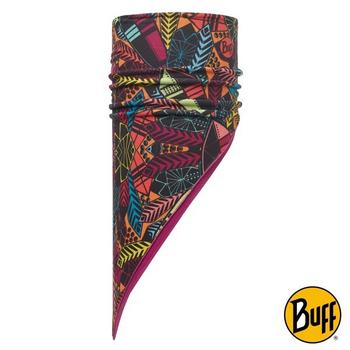 《BUFF》達努之盾 POLAR保暖斜三角巾 #BF113232-555-10