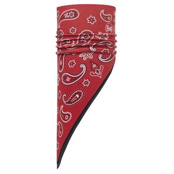 《BUFF》變形蟲 紅 POLAR保暖斜三角巾 #BF113231-425-10