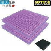 《海夫健康生活館》日本原裝 Geltron Double Hard 凝膠坐墊 舒壓坐墊 (GTC2SH)