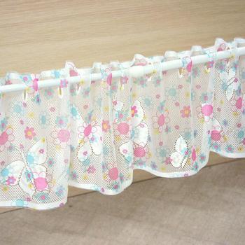 布安於室-舞蝶針織一片式短門簾(4入組)