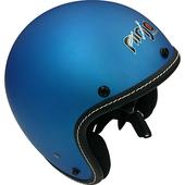 《台灣製》806車線內鏡安全帽-M(平銀藍)