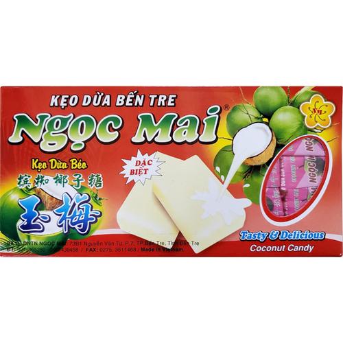 《Ngoc Mai》越南玉梅椰子糖果-原味(400g/盒)
