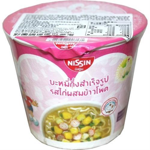 《日清》迪士尼杯麵(雞肉玉米味-40g/杯)