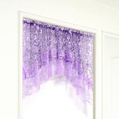布安於室-紫色拱型簾-寬158x高73cm
