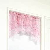 布安於室-粉色拱型簾