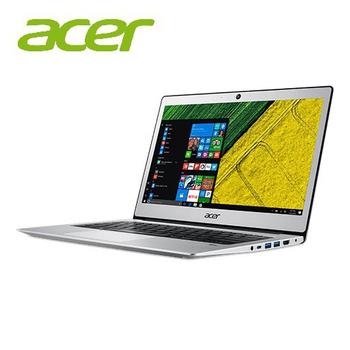 宏碁 SF113 Acer Swift 1 13.3吋輕薄筆電★三色可選★再送三好禮↘搶!(SF113-31-C035銀)