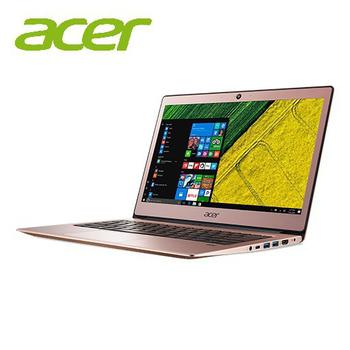 宏碁 SF113 Acer Swift 1 13.3吋輕薄筆電★三色可選★再送三好禮↘搶!(SF113-31-C380粉)