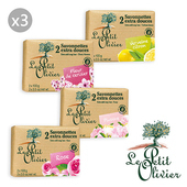 《法國小橄欖樹》傳統草本保濕香皂(2x100g)3入(櫻花-3入)