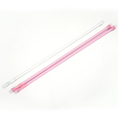 布安於室-2色款門簾伸縮桿約64-102cm(3入組-粉色*2+白色*1)