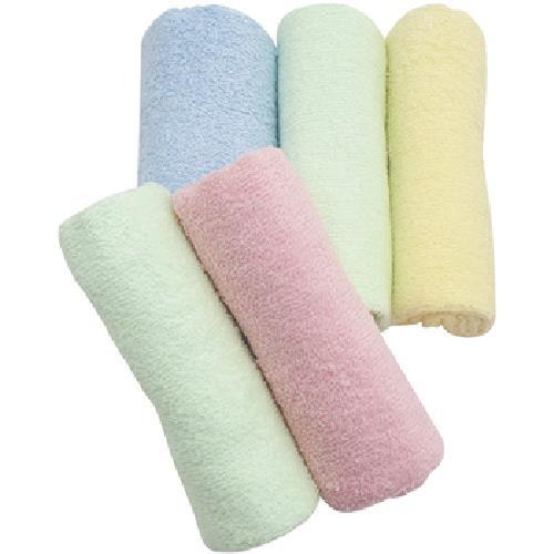 超值組素色毛巾5入(33x73cm。60g/條)