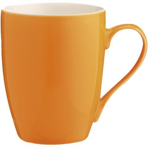 actuel 新骨瓷馬克杯(橘350毫升)