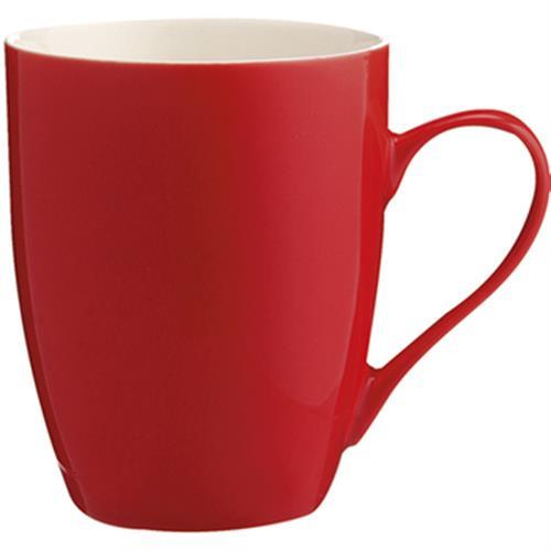 actuel 新骨瓷馬克杯(紅350毫升)