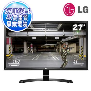 樂金 LG 27UD58-B 27吋AH-IPS 4K高畫質 寬螢幕