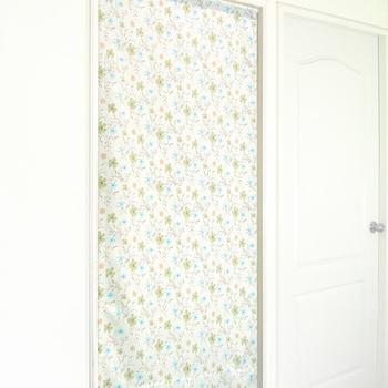 布安於室-花之梅遮光風水簾(綠色)