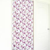 布安於室-花開富貴遮光風水簾(紫花)