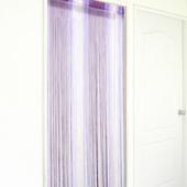 布安於室-漸層紫線簾