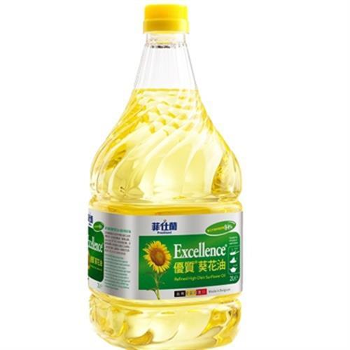 菲仕蘭 優質葵花油(2000ml/瓶)