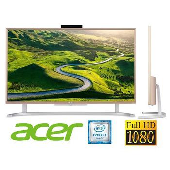 宏碁 Acer C22-760 22型AIO i3雙核纖薄美型液晶電腦★時尚美型、效能兼備