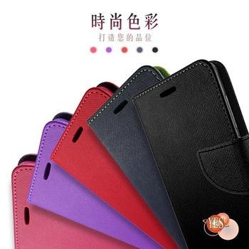 《SAMSUNG》GALAXY J5 ( J5007 )  新時尚 - 側翻皮套(黑色)