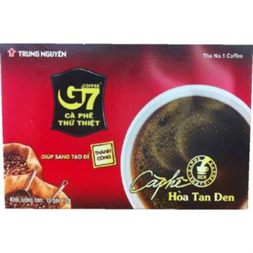 越南G7 即溶黑咖啡(2g*15入/盒)