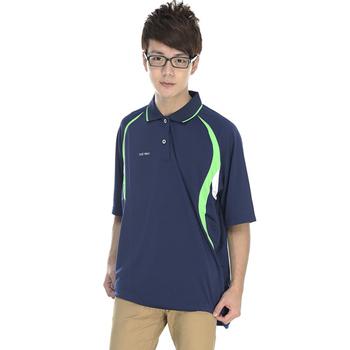 《SAIN SOU》MIT吸濕排汗短袖POLO衫(M)
