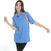 《SAIN SOU》MIT吸濕排汗短袖POLO衫(女款)(M)