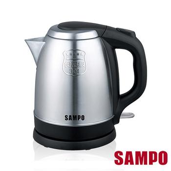聲寶SAMPO 1.2L不鏽鋼快煮壺 KP-LC12S