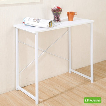 《DF house》卡洛斯80公分多功能工作桌(白色)