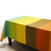 布安於室-色塊純棉桌巾(混色)