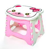 布安於室-兒童用可愛風可收摺疊椅2入(粉紅)