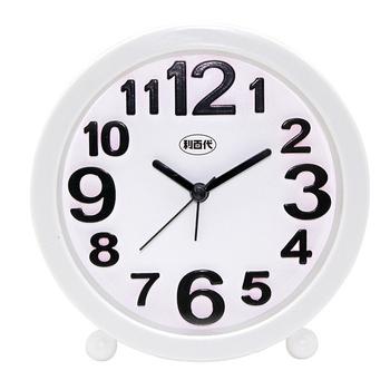 《利百代》利百代 LB-204 立體數字圓型鬧鐘(隨機出貨)(利百代 LB-204 立體數字圓型鬧鐘(隨機出貨))